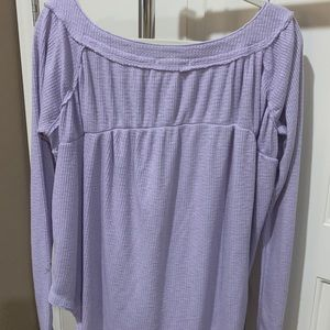 Free People Tops - Free people waffle top small